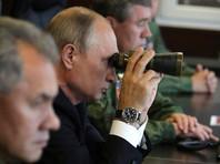 """Путин прибыл в Ленинградскую область для наблюдения за учениями """"Запад-2017"""""""