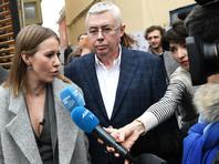 Собчак представила главу своего штаба - Игоря Малашенко