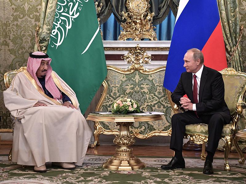 В Кремле завершились переговоры президента России Владимира Путина с королем Саудовской Аравии Сальманом бен Абдель Азизом Аль Саудом