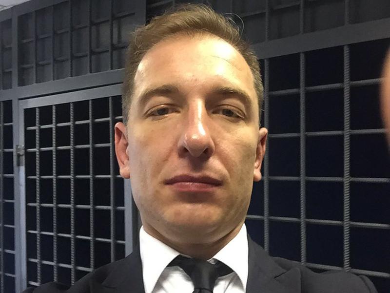 Руководитель Фонда борьбы с коррупцией Алексея Навального Роман Рубанов задержан утром 10 октября у своего подъезда