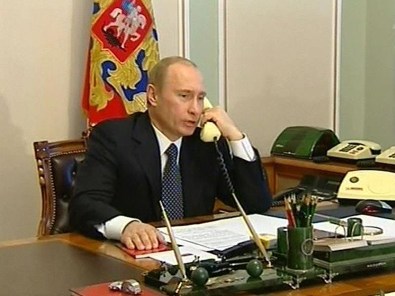 Путин в свой 65-й день рождения планирует много говорить по телефону