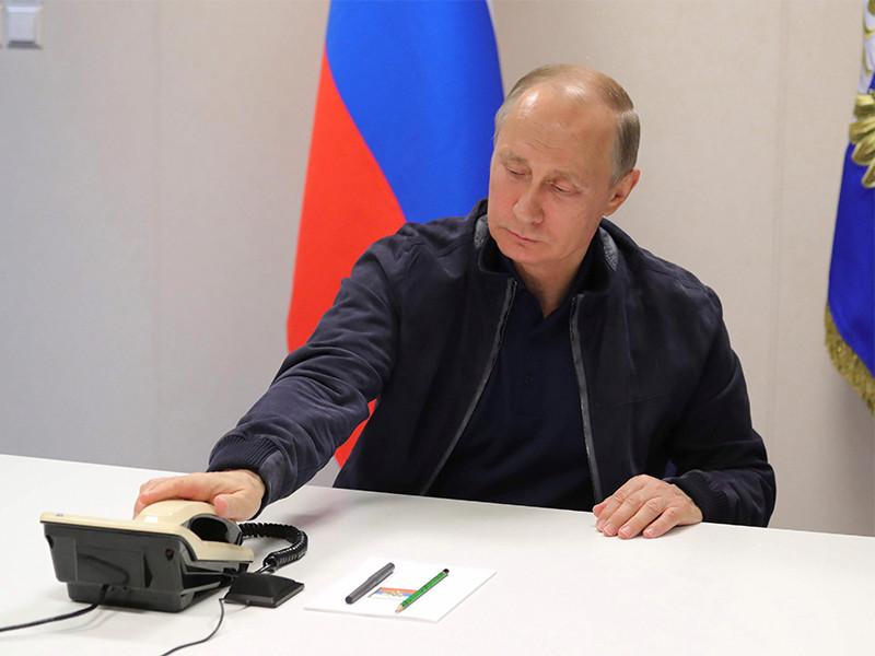 Путин и Эрдоган по телефону обсудили энергетические проекты и ситуацию в Сирии
