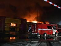 """Ущерб от пожара на строительном рынке """"Синдика"""" оценили в 5 миллиардов рублей"""