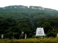 В Адыгее сотня туристов блокирована на горе из-за лесного пожара
