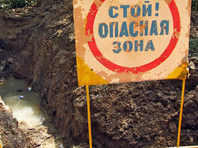 В Иркутске при выкапывании траншеи для коммуникаций произошел обвал грунта, погибли двое рабочих
