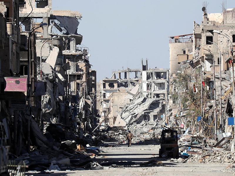 Ракка, 18 октября 2017 года