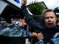 Координатора штаба Навального Ляскина снова задержали