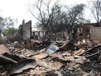 Пожар в столице Ростовской области уничтожил более 120 строений, в том числе около 100 жилых домов