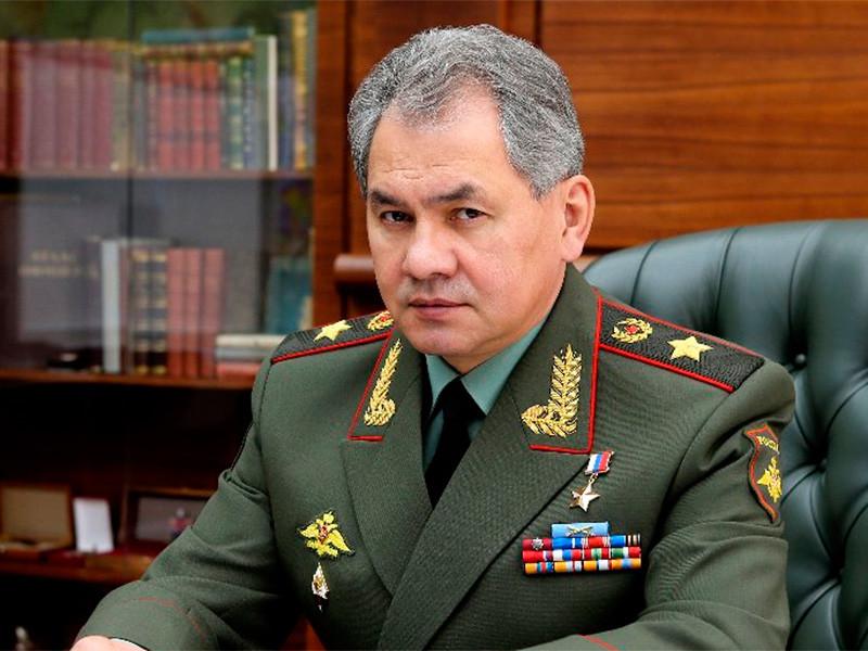 Шойгу заявил о скором завершении военной операции в Сирии