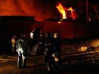 Пожар уничтожил 6 тысяч квадратных метров самого крупного вещевого рынка Ростова-на-Дону