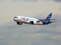 Новый самолет МС-21-300 совершил первый перелет из Иркутска в Москву