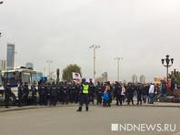 На акциях в защиту политика Алексея Навального задержали более 80 человек, активнее всего полиция действовала в Екатеринбурге, где задержали 24 человека