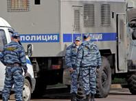 На Манежной площади в Москве задержали полтора десятка протестующих