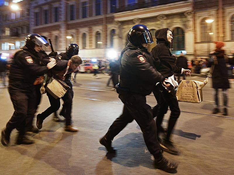 На одного из участников акции в Петербурге могут завести уголовное дело