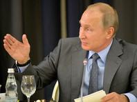 """""""Как вы видите, я пришел не один. Как вы, наверное, знаете, в Сочи мы проводили мероприятие в рамках СНГ, затем наш Евразийский экономический союз вчера встречался. Имея в виду нашу с вами встречу, я попросил президента Казахстана тоже в ней поучаствовать"""", - объяснил собравшимся Путин"""