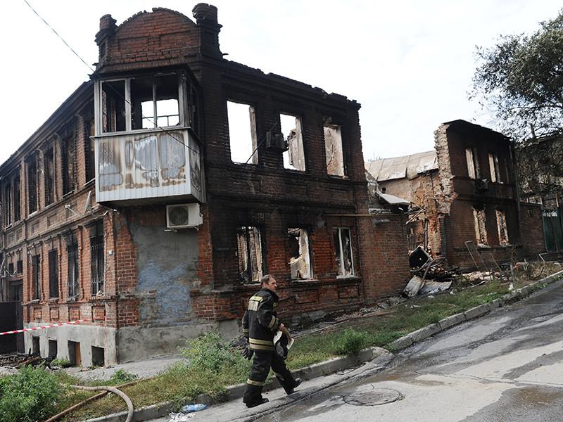 В Ростове-на-Дону запрещают частные стройки на месте крупного августовского пожара, который уничтожил более сотни домов в историческом центре города