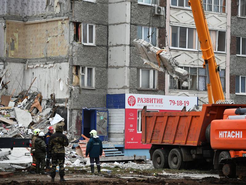 Спасательные работы на месте частичного обрушения девятиэтажного жилого дома в Ижевске, в результате которого погибли шесть человек, прекращены