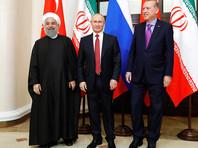 Россия предложила Турции и Ирану вместе восстанавливать Сирию