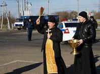Сотрудники ГИБДД в Краснодаре устроили крестный ход по опасному участку трассы