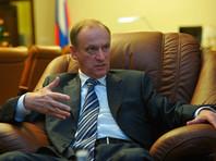 Патрушев заявил о подготовке к выводу российских войск из Сирии