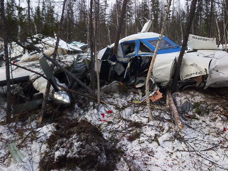 В Хабаровском крае разбился пассажирский самолет L-410