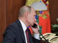 Путин и Трамп по телефону обсудили ситуацию в Сирии и Северную Корею