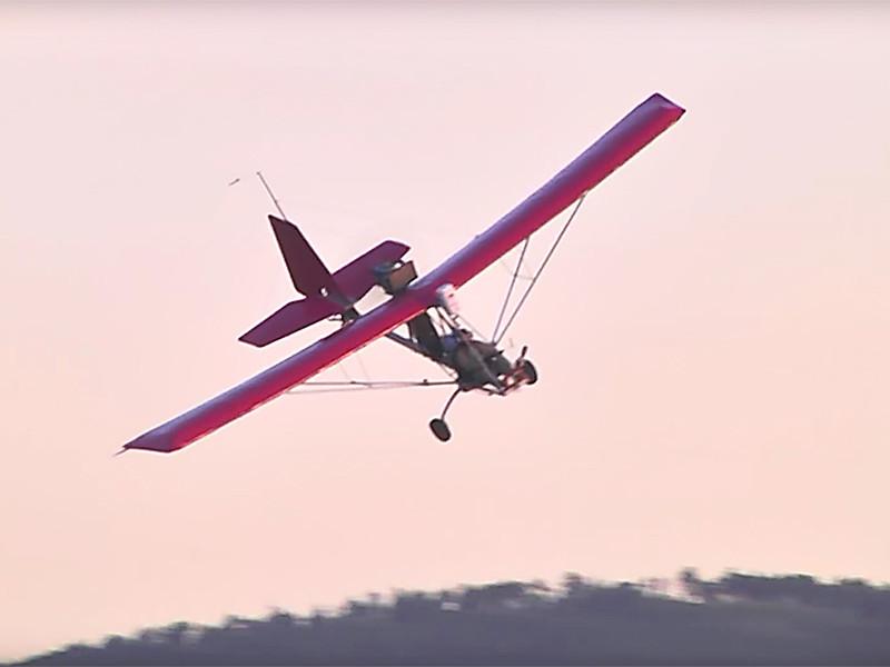 Читинский пилот попал в Книгу рекордов Гиннесса, сделав сто витков в штопоре на сверхлегком самолете