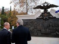 """Открытый Путиным памятник Александру III критикуют за """"аццкие ляпы"""""""