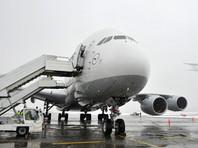 Первая посадка A380 в аэропорту Новосибирска была экстренной