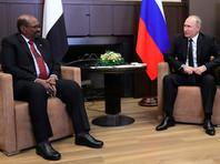 Президент Судана обсудил с Путиным и Шойгу создание военной базы и покупку оружия