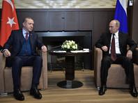 В Сочи завершились 4-часовые переговоры Путина и Эрдогана