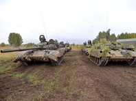 Минобороны объявило о выходе России на первое место в мире по количеству танков и БМП