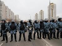 """В Люблино прошел """"Русский марш"""" с расколом организаторов, задержаниями и оттеснением прессы"""
