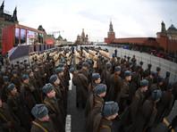 На Красной площади прошел марш, посвященный параду 7 ноября 1941 года (ВИДЕО)