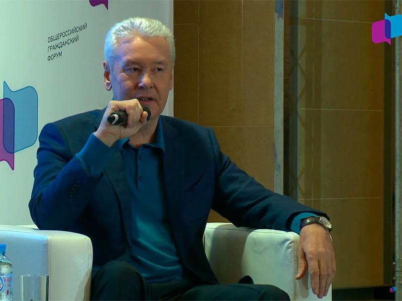 Собянин на форуме в Москве не разрешил задавать вопросы и рассказал о лишних людях, прозябающих в деревнях
