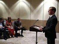 Премьер-министр России Дмитрий Медведев, рассказывая о поездке в Манилу на саммит АСЕАН, поделился впечатлениями от первой своей встречи с президентом США Дональдом Трампом