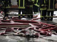 В Москве при пожаре в бытовке погибли шесть человек