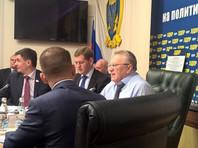 Решение о выдвижении было принято 20 ноября на заседании Высшего совета политической партии ЛДПР и президиума фракции ЛДПР в Госдуме единогласно