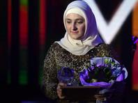 18-летняя дочь Кадырова получила приз Fashion New Year Awards 2018 за коллекцию женской одежды