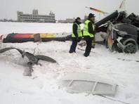 В аэропорту Нарьян-Мара при взлете упал легкий самолет: погибли несколько человек