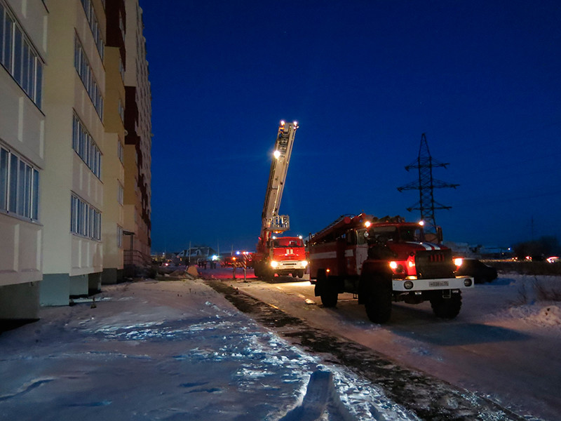 В жилом доме в Омске взорвался незаконно установленный газовый баллон