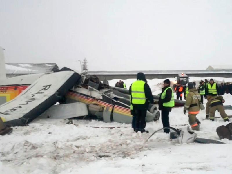 Следствие рассматривает три версии крушения самолета в Нарьян-Маре, жертвами которого стали три человека
