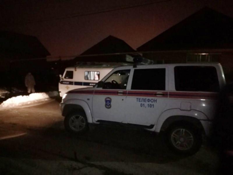 Четыре человека погибли в воскресенье пожаре в частном доме в деревне Суровка Уфимского района