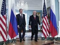 Дипломат отметила, что глава ведомства Сергей Лавров намерен в четверг в Вене обсудить ситуацию вокруг российских СМИ с госсекретарем США Рексом Тиллерсоном