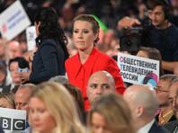Опрос: больше всего россиянам на пресс-конференции Путина запомнился вопрос Собчак о Навальном