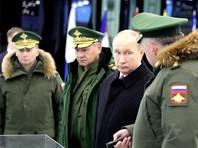 Путин попросил военных учитывать агрессивный характер стратегии нацбезопасности США