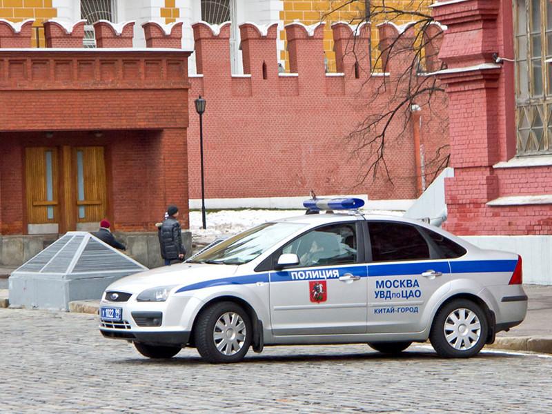 Полиция задержали подозреваемого в стрельбе у Красной площади в центре Москвы
