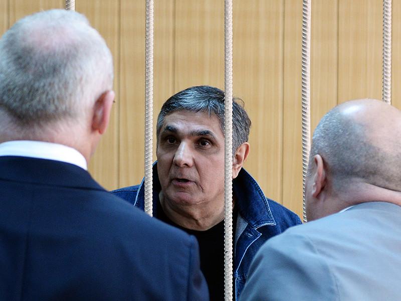 Захарий Калашов (Шакро Молодой) во время заседания суда