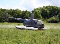 В ставропольской степи разбился частный вертолет: погибли два человека