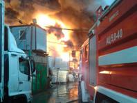 В Подольске площадь пожаров на складах достигла 1,5 тыс. метров